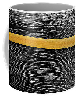 Coffee Mug featuring the photograph Tools On Wood 11 On Bw by YoPedro
