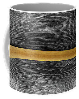 Coffee Mug featuring the photograph Tools On Wood 12 On Bw by YoPedro