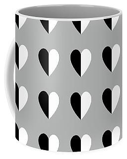 Modern Hearts- Art By Linda Woods Coffee Mug