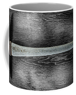 Coffee Mug featuring the photograph Tools On Wood 13 On Bw by YoPedro