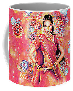 Coffee Mug featuring the painting Devika Dance by Eva Campbell