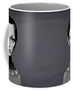 Celebrity Sunday - Twiggy Coffee Mug by Rob Snow