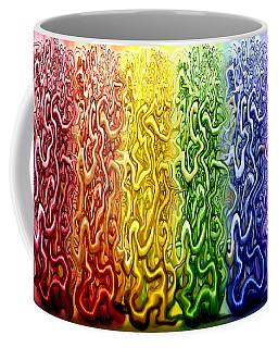 Coffee Mug featuring the digital art Interwoven by Kevin Middleton