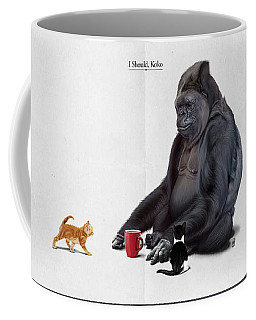 I Should, Koko Coffee Mug by Rob Snow