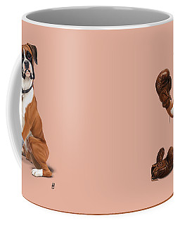 The Boxer Colour Coffee Mug