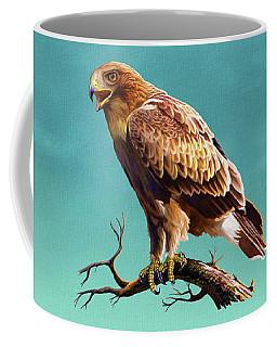 Booted Eagle  Coffee Mug by Anthony Mwangi