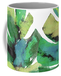 Coffee Mug featuring the mixed media Tropical Dreams 1- Art By Linda Woods by Linda Woods