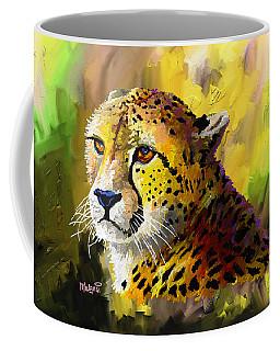 Cheetah Coffee Mug by Anthony Mwangi