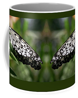 Black And White Butterfly -  Coffee Mug