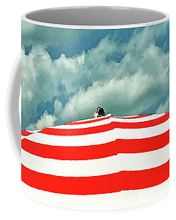 Summer Beach Sky Coffee Mug by Deborah Smith