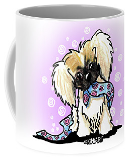 Pekingese Puppy Coffee Mug