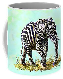 Zebraphant Coffee Mug by Anthony Mwangi
