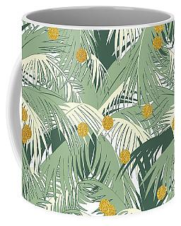 Palm And Gold Coffee Mug