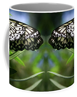 Rice Paper Butterfly - Coffee Mug