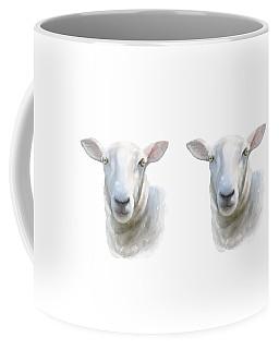 Watercolor Sheep Coffee Mug