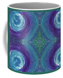 Universal Love Green Diamond Quad Coffee Mug
