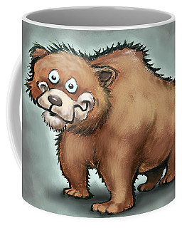 Coffee Mug featuring the digital art Bear by Kevin Middleton