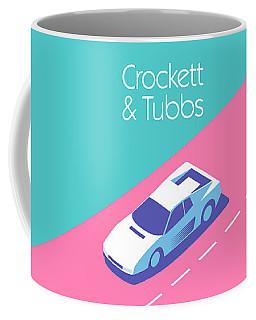 Crockett And Tubbs Retro 80s Coffee Mug