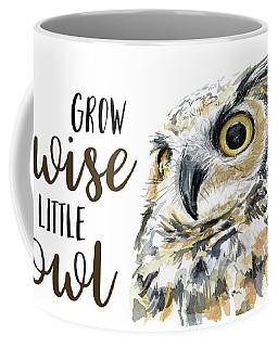 Grow Wise Little Owl Coffee Mug