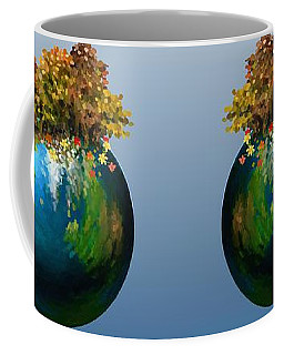 Coffee Mug featuring the painting There Is Only One by Ivana Westin