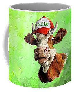 Vegan Coffee Mug by Anthony Mwangi