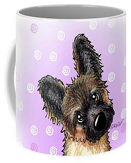 Kiniart Shepherd Puppy Coffee Mug