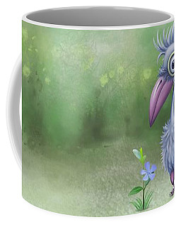 Coffee Mug featuring the painting Beauty Is Subjective by Ivana Westin