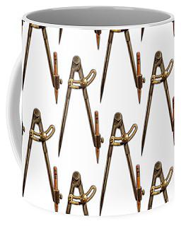 Coffee Mug featuring the photograph Iron Compass Pattern by YoPedro