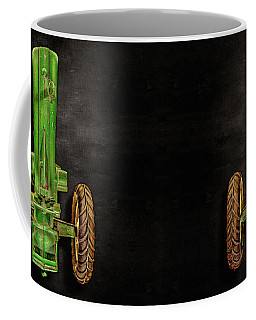 Coffee Mug featuring the photograph John Deere Top On Black by YoPedro