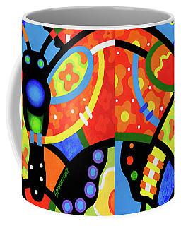 Kaleidoscope Butterfly Coffee Mug