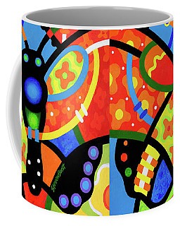 Kaleidoscope Butterfly Coffee Mug
