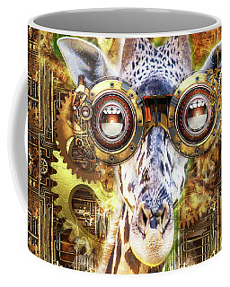 Steam Punk Giraffe Coffee Mug