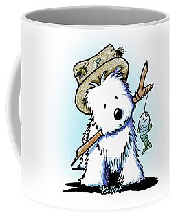 Kiniart Westie Fisherman Coffee Mug