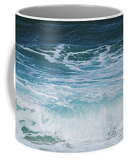 Coffee Mug featuring the photograph Ocean Waves From The Depths Of The Stars by Sharon Mau
