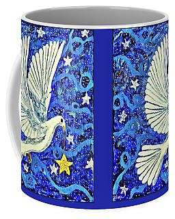 Dove With Star Coffee Mug