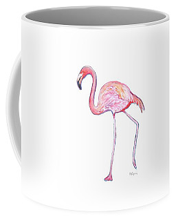 Pinky The Flamingo Coffee Mug