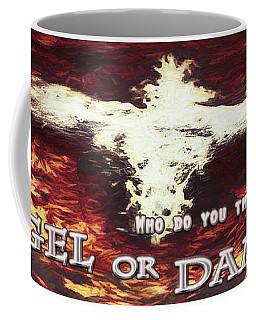 Winged Creature. Angel Or Damon? Coffee Mug