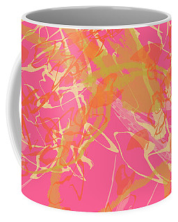 Fern Palette Painting #1 Coffee Mug