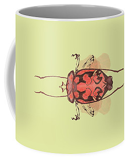 Crowned Horn Bug Specimen Coffee Mug