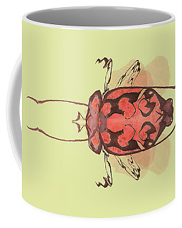 Crowned Horn Bug Specimen Coffee Mug