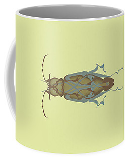 Cockroach Specimen Coffee Mug