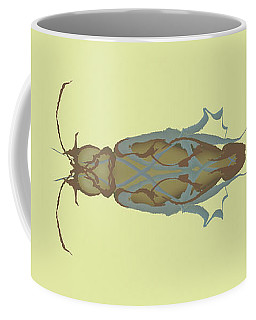 Cockroach Specimen Coffee Mug