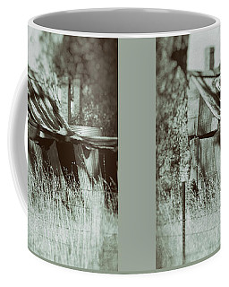 Coffee Mug featuring the photograph Rural Reminiscence by Linda Lees