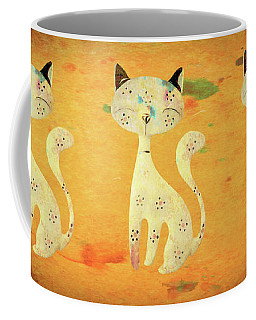 Artistic Pussycat Coffee Mug