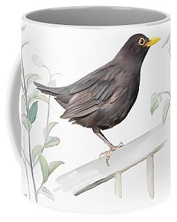 Ms. Blackbird Is Brown Coffee Mug