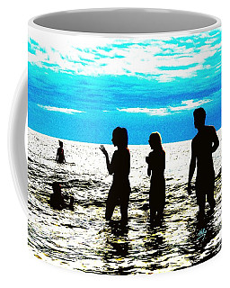 Hot Night At The Beach Coffee Mug