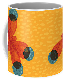 Orange Methane Molecule Coffee Mug