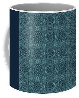 Indigo Diamond Cross Pattern 24in Coffee Mug