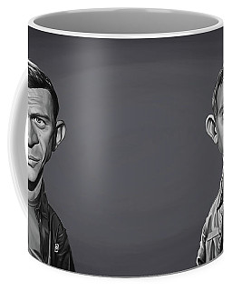 Celebrity Sunday - Steve Mcqueen Coffee Mug