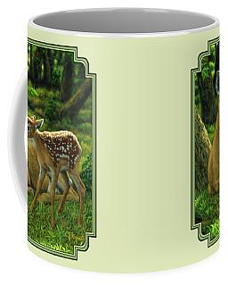 White-tailed Deer Coffee Mugs